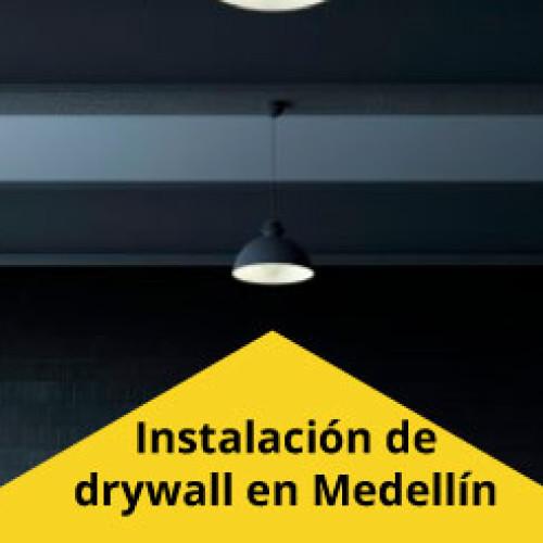 Encuentra excelentes resultados de la instalación de drywall en Medellín